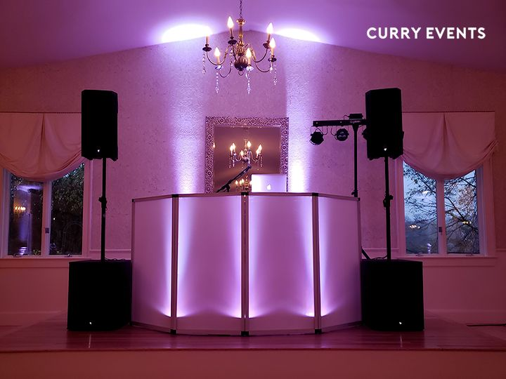 DJ Booth - Uplighting