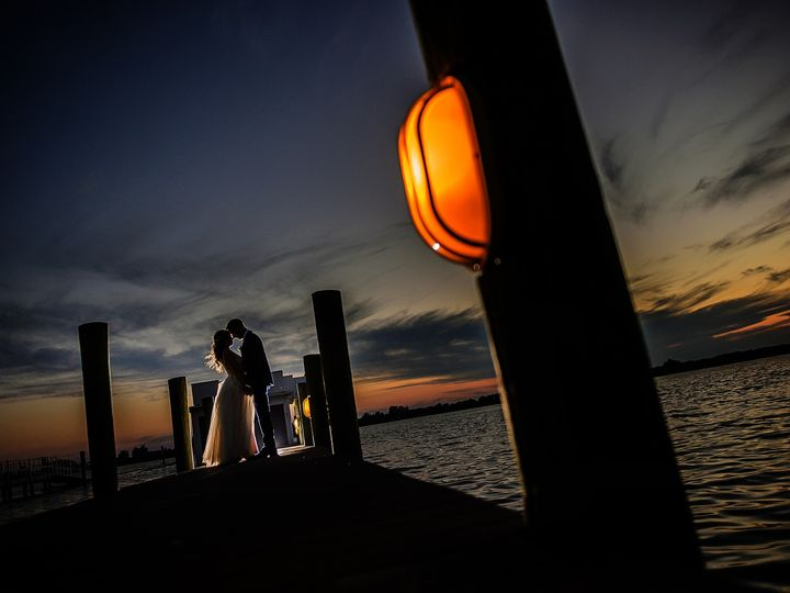 Tmx Silhouette Couple Portrait Dock 51 403963 1555431686 Sarasota, FL wedding photography