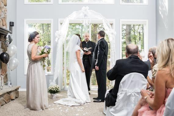 Living Room Wedding