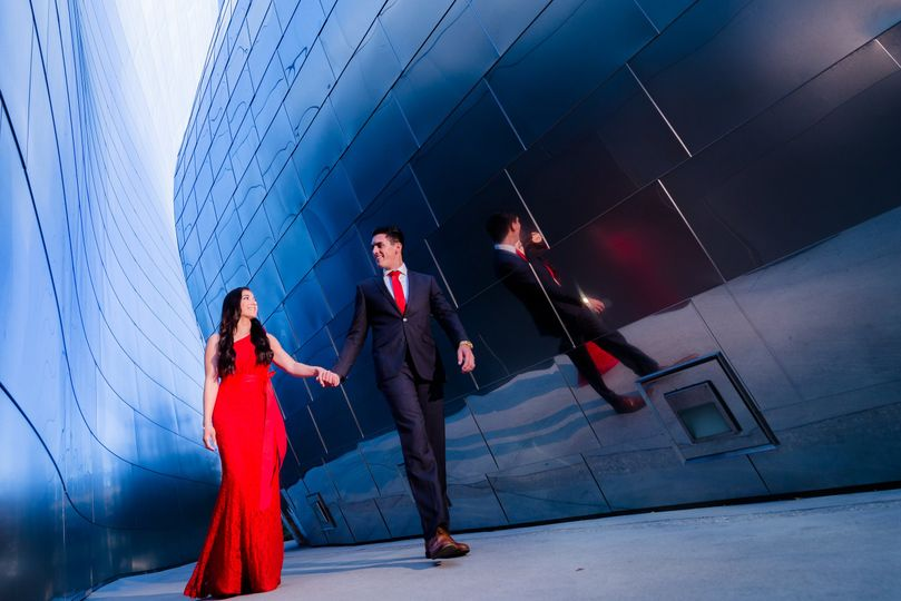 walt disney concert hall couples session rosie and ivan print 69 51 1055963