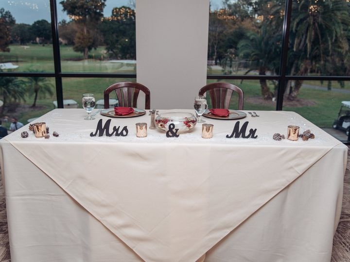 Tmx Head Table 51 496963 Tarpon Springs, Florida wedding venue