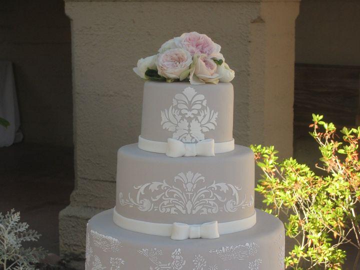 Tmx 1396207714753 Stenci Napa, California wedding cake