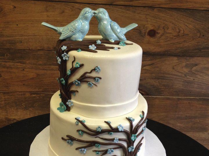 Tmx 1424030595952 Img1079 Haddonfield wedding cake