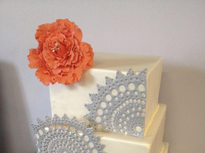 Tmx 1424030678591 Img1268 Haddonfield wedding cake