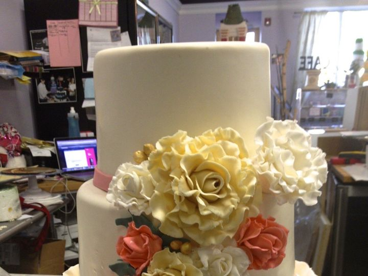 Tmx 1424030892692 Img1614 Haddonfield wedding cake