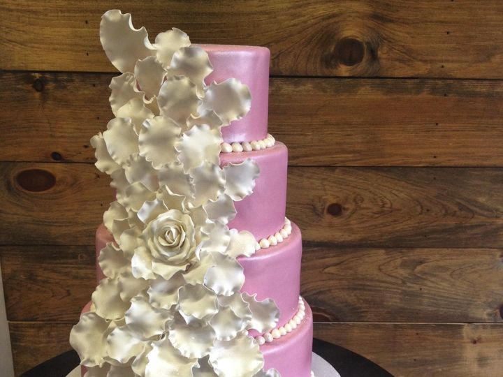 Tmx 1424031019145 Img1791 Haddonfield wedding cake
