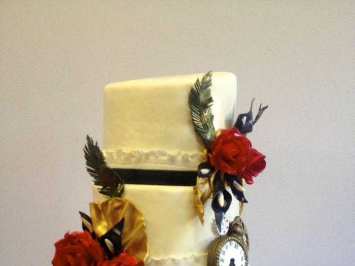 Tmx 1424031092325 Img1872 Haddonfield wedding cake