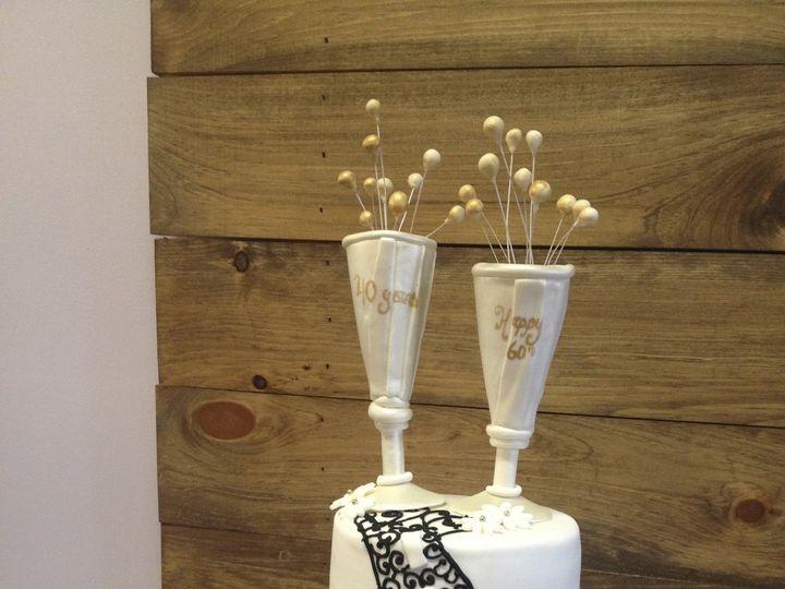 Tmx 1424031190025 Img2071 Haddonfield wedding cake