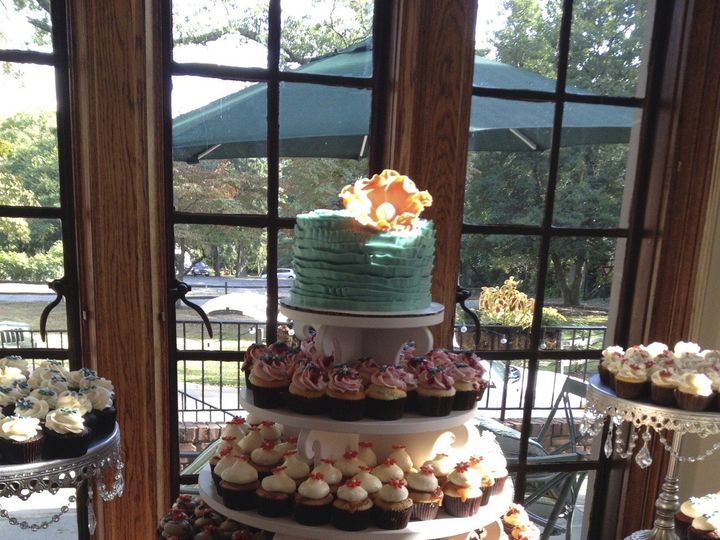 Tmx 1424031517793 Img2316 Haddonfield wedding cake