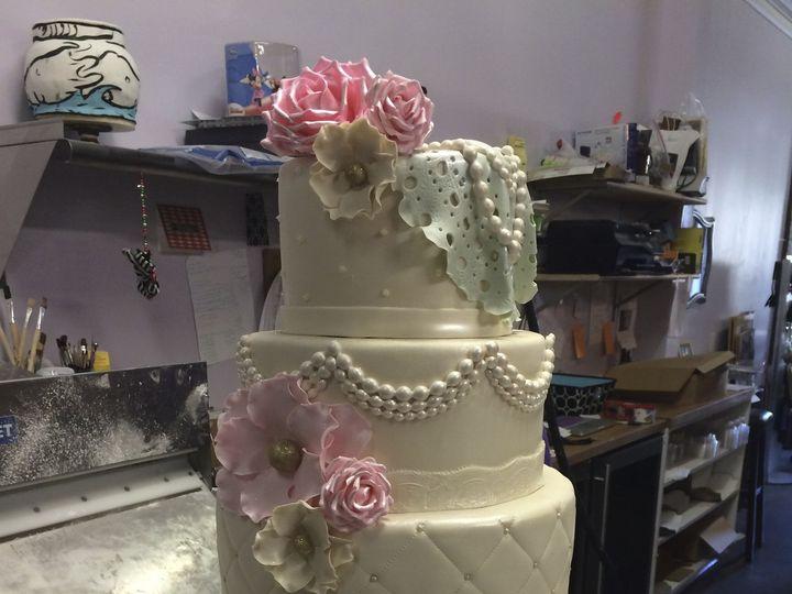 Tmx 1424031700135 Img2507 Haddonfield wedding cake