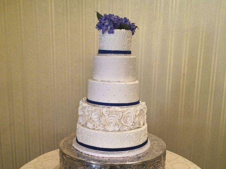 Tmx 1424031925651 Img2989 Haddonfield wedding cake