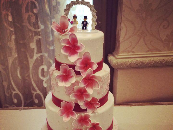 Tmx 1424032259274 Img4250 Haddonfield wedding cake