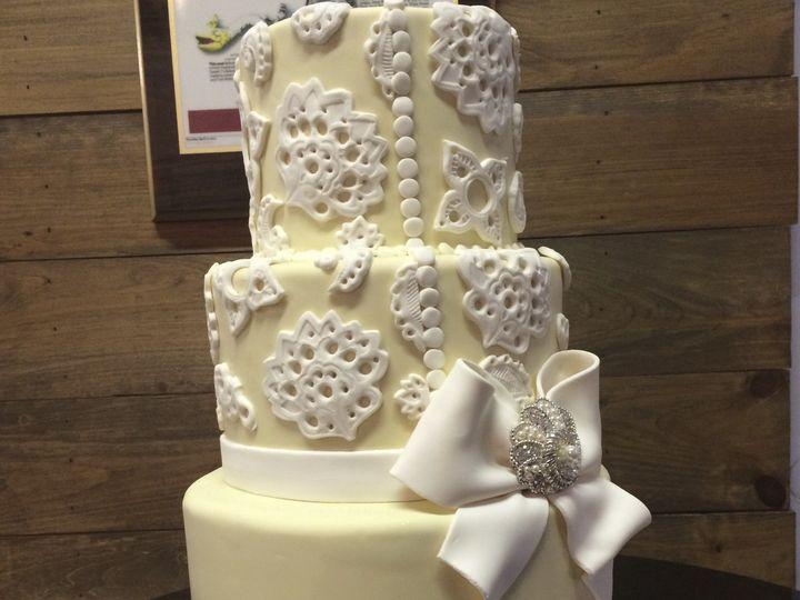 Tmx 1424032359697 Img4613 Haddonfield wedding cake