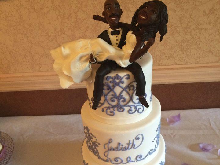 Tmx 1424032411205 Img4822 Haddonfield wedding cake
