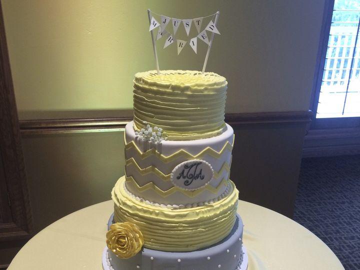 Tmx 1424032482083 Img4825 Haddonfield wedding cake