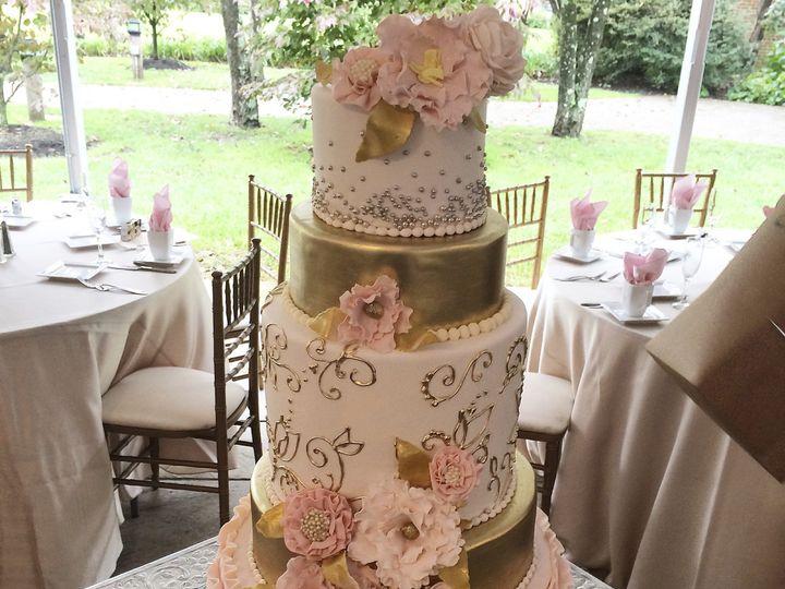 Tmx 1424038325311 Img6339 Haddonfield wedding cake