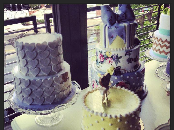 Tmx 1424038408247 Img6755 Haddonfield wedding cake