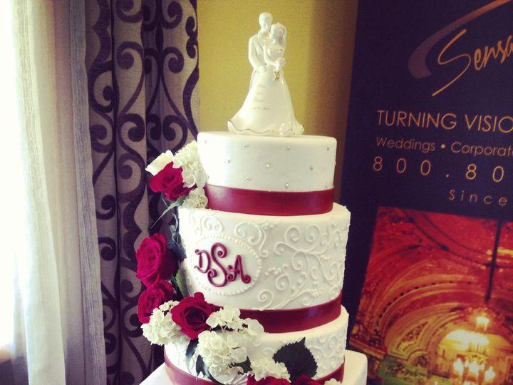 Tmx 1424038438919 Img7391 Haddonfield wedding cake