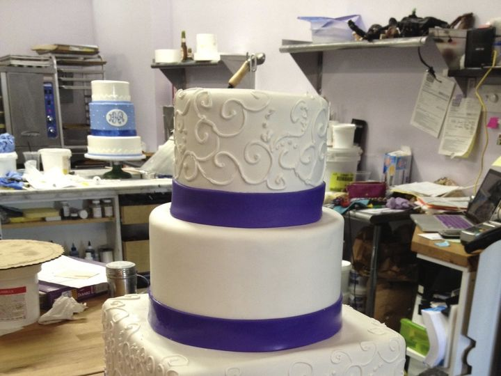 Tmx 1424038466850 Img7759 Haddonfield wedding cake