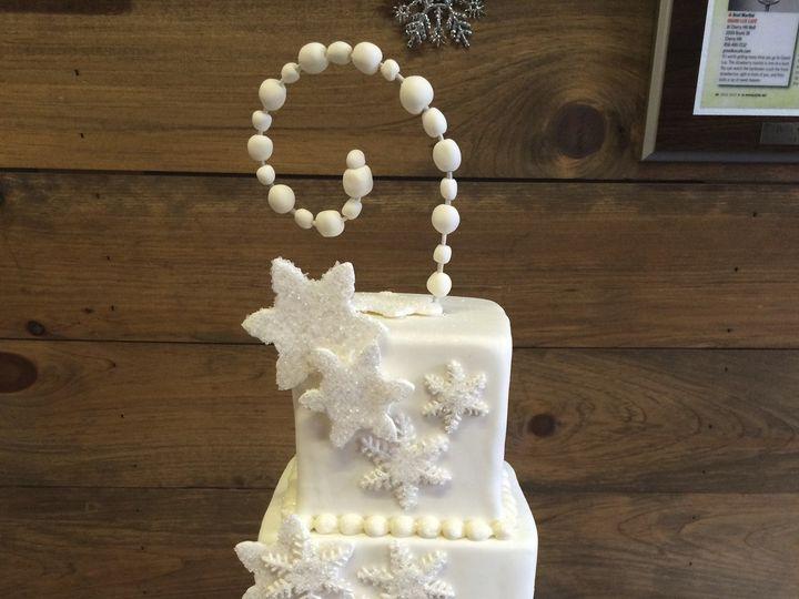 Tmx 1424038487951 Img8522 Haddonfield wedding cake