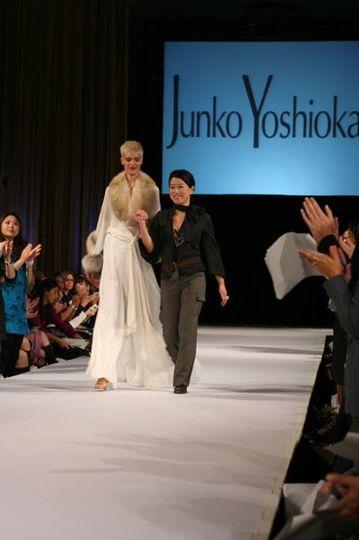 The designer, Junko Yoshioka