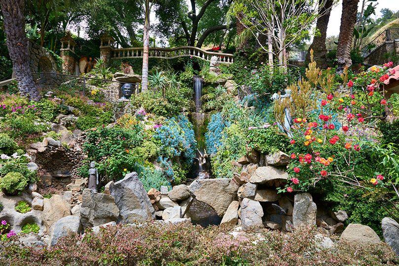 3 story natural waterfall