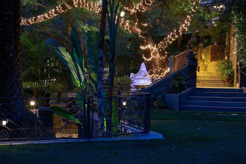 The Buddha garden