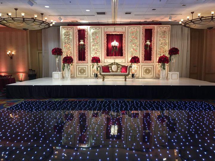 Grand Ballroom Indian Wedding