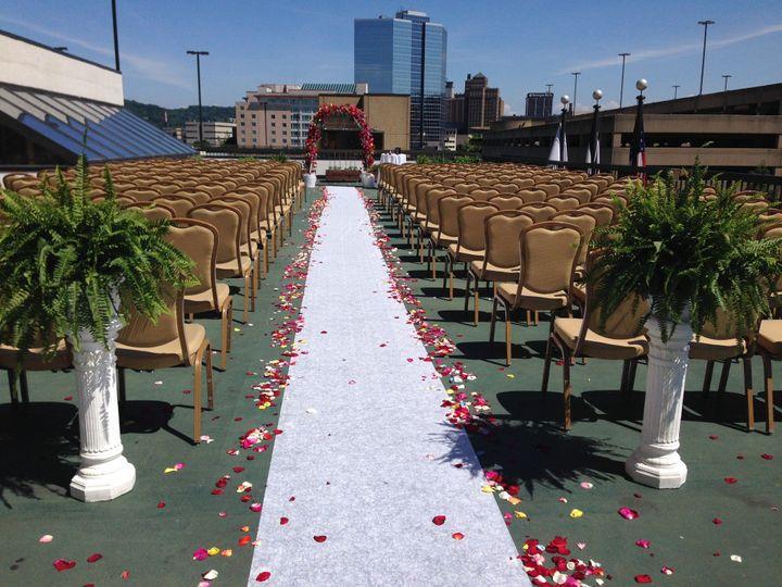 Pavilion Terrace Ceremony