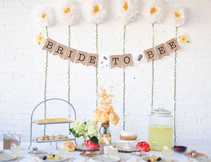 Bride to bee shower