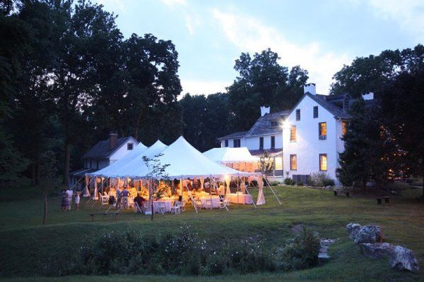 Tented Summer wedding at DuPortail