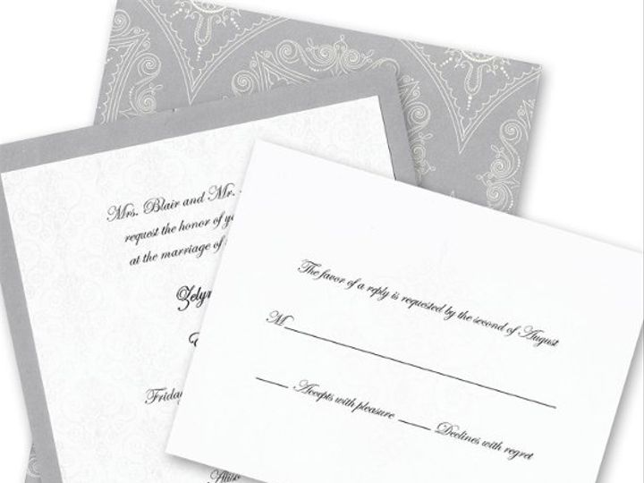 Tmx 1311036507483 Silver Ventura wedding invitation