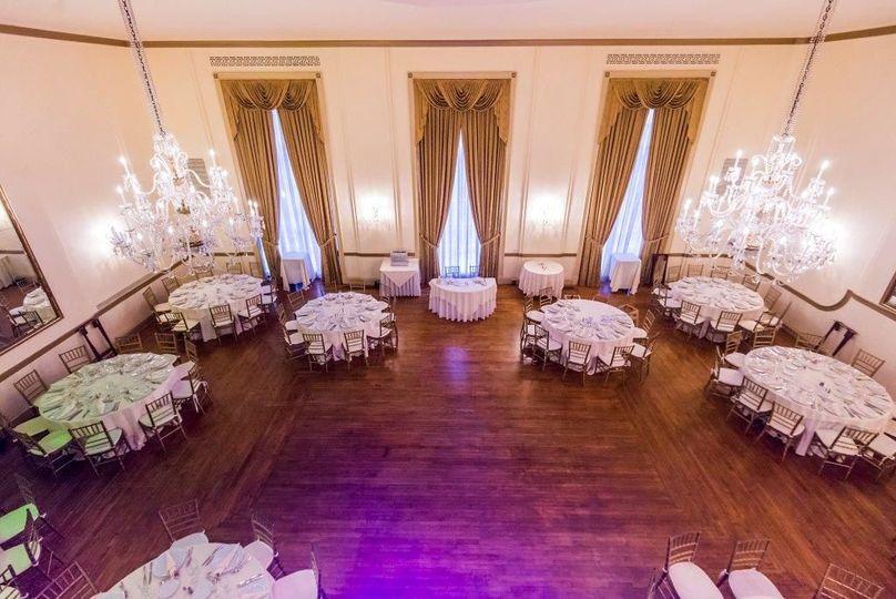 Grand ballroom | photo by Unveiled Weddings
