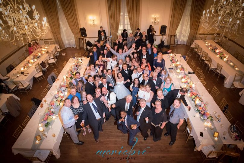 All the guests | Maria Love Photography