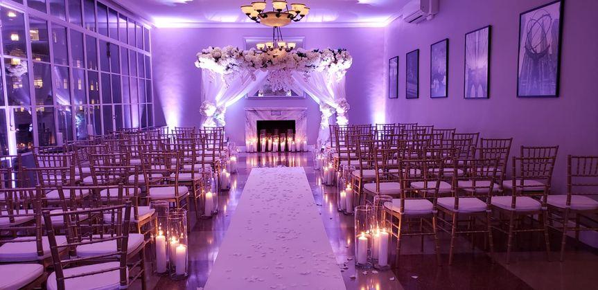 Wedding setup | Photo by Chris Herder