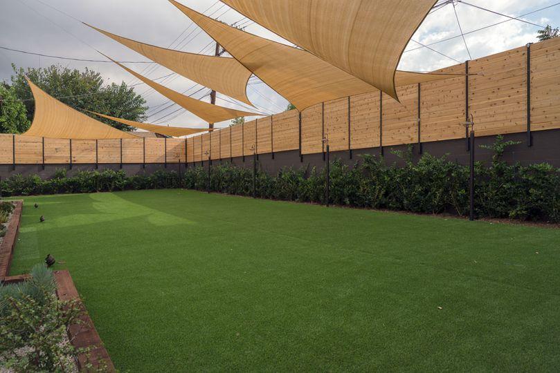 Lawn for garden weddings