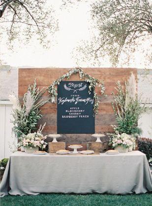 Wedding setup