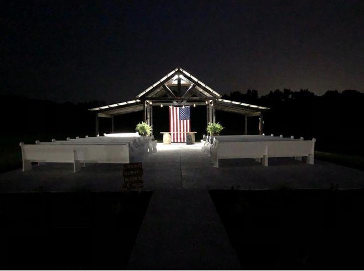 Belle's Outdoor Ceremony Area