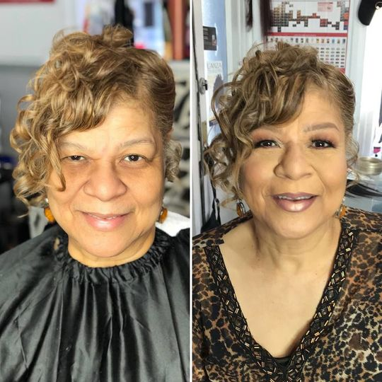 Makeup for the elderly