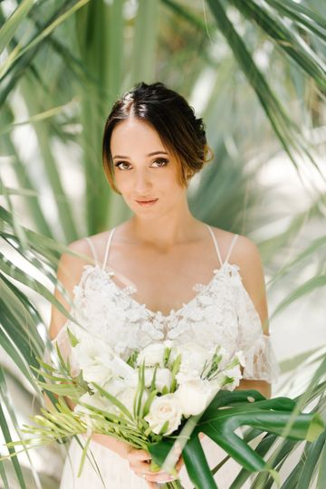 Exciting bride
