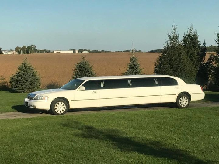 limo out front