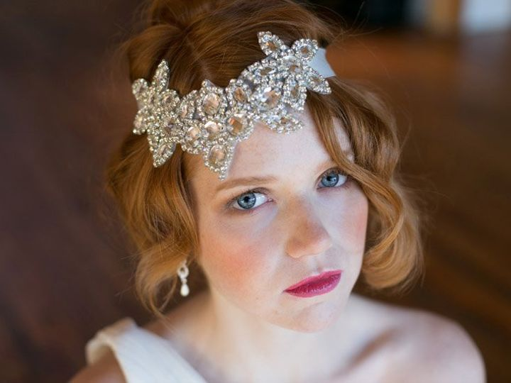 Tmx 1364266341249 304DiamondFlowerheadband Mission wedding dress