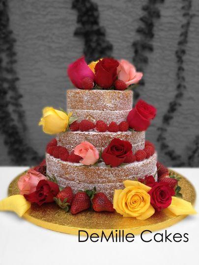 sm naked cake