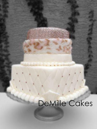 sm rhinestone cake
