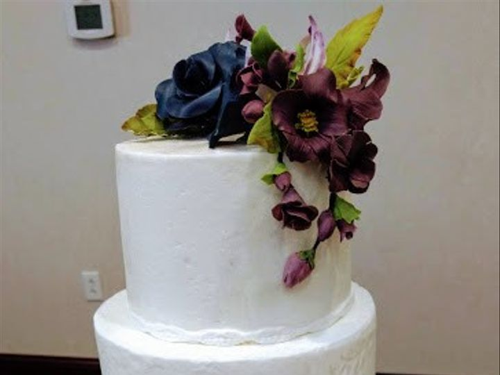 Tmx Duffin Wedding Cake 3 51 990173 1565056210 Fishers, Indiana wedding cake