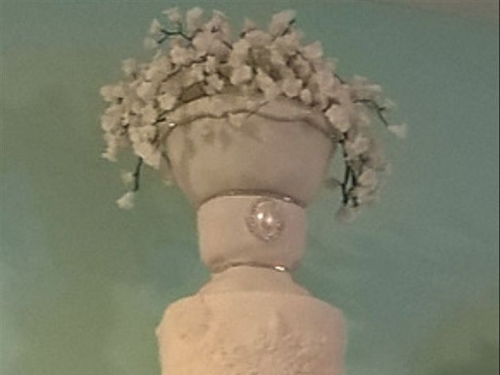 Tmx Lily Of The Valley Vistaprint 51 990173 Fishers, Indiana wedding cake