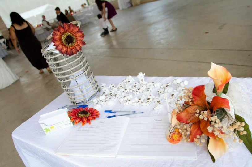 Guestbook station