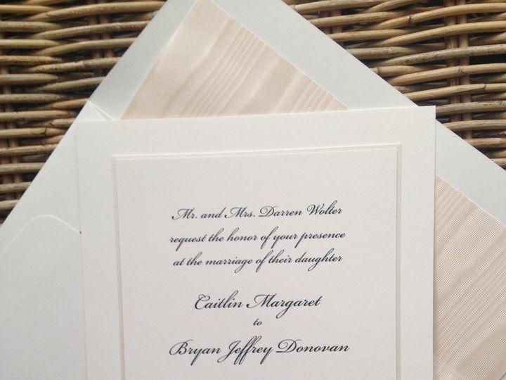 Tmx 1482770889492 Img6876 Orange, Connecticut wedding invitation