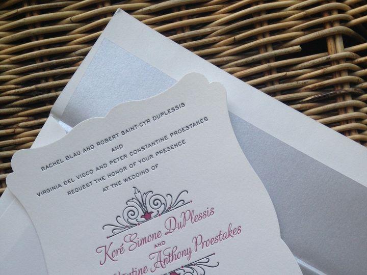 Tmx 1482770968259 Img6860 Orange, Connecticut wedding invitation