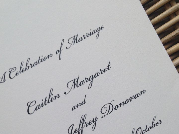 Tmx 1482770983117 Img6867 Orange, Connecticut wedding invitation